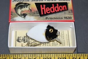 Limited Edition Heddon Punkinseed Fishing Lure