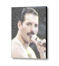 Queen Freddie Mercury Bohemian Rhapsody Lyrics Mosaic Framed Print Lim. Ed. Coa