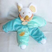 Doudou Souris Babynat Baby Nat' - Bleu