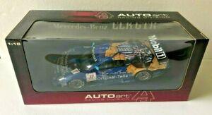AUTOart Racing Division Mercedes-Benz CLK GTR #11 1:18 Diecast 1998 RARE NIB