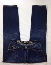 Women's DLX Jeans Los Angeles Studded Denim Jeans