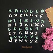 Alphabet Letter A-Z Die Cutting Dies Stencil For DIY Scrapbooking Album Paper