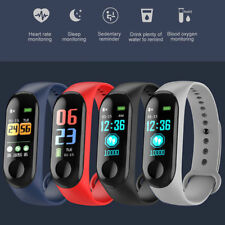 Bluetooth Smart Watch Heart Rate Blood Pressure/Oxygen Bracelet For IOS/Android