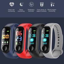 Bluetooth Reloj inteligente Presión Arterial Frecuencia Cardíaca/Pulsera de oxígeno para iOS/Android