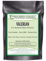 Valerian - 4:1 Natural Root Powder Extract (Valeriana officianalis), 12 oz