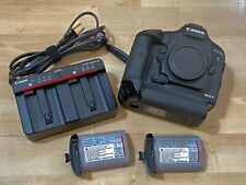 Canon EOS 1Dx MK II Digital SLR Camera Body 2-Batteries 220k shutter actuation