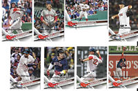 2017 Topps All-Star Game Silver Parallel Baseball Team Set - Boston Red Sox!!
