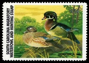 1981 South Carolina First of State Duck Stamp (SC1)