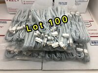 LOT 100X6FT USB Data Sync Cable Cord Charger for iPhone 4G 4S 3GS iPod Touch 4G