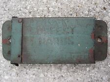 ANTIQUE 19th CENTURY ELGIN JOLIET & EASTERN EJ&E IL IN DEFECT CARD GREEN IRON CN