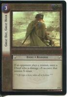 Lord Of The Rings CCG Foil Card MD 10.R1 Great Day, Great Hour