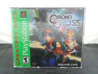 Chrono Cross (PlayStation 1, 2000) PS1 Black Label Complete Tested Mint Discs