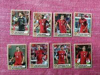 Panini World Cup 2018 McDonald SET Portogallo 8 figurine - Cristiano Ronaldo