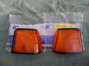 1987-88 OLDS CUTLASS SUPREME 442 EURO LH-RH CORNER MARKER LAMP LIGHT NOS GM SET