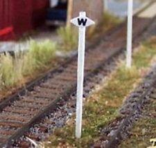 Osborn Models N Gauge * Whistle Signs * Package Of 5 * New Kit * Item Rra3047