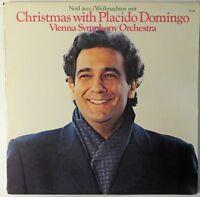 Christmas With Placido Domingo Vienna Symphony Orchestra. 1982 FM-37245 PROMO