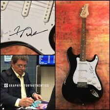 GFA Teen Idol Legend * FRANKIE AVALON * Signed Electric Guitar PROOF F2 COA