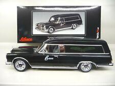 1:18 Schuco Mercedes 600 Bestattungswagen hearse 450007600 NEU NEW