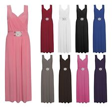 Unbranded V Neck Plus Size Maxi Dresses for Women