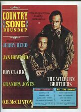 Country Song Roundup Aug 1972 Roy Clark Grandpa Jones Wilburn Brothers MBX86
