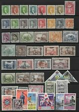 Collection of mixed used Iraq stamps.