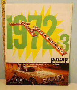 1972-73 Detroit Pistons Basketball Program with Extra Scoring Aids