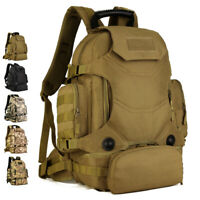 40L Tactical Backpack Military Molle Outdoor Rucksack Camping Hiking Travel Bag