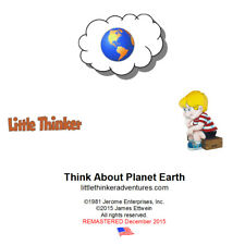 Little Thinker - Think About Planet Earth - New Cd remastered from cassette