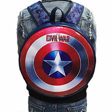 The Avengers Captain America Shield Cosplay Shoulder Backpack Bags Civil War