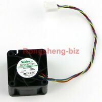 1PC New NIDEC 4028 4CM FAN 12V 0.40A V40S12BGA5-57 4-WIRE PWM #RS8