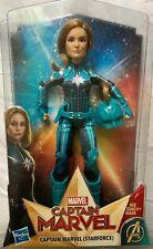 """Marvel """"Captain Marvel"""" (Starforce) Doll  Action Figure with Helmet NIB"""