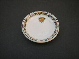 Vtg. Southern Pacific Railroad China Butter Pat - Oranges