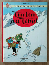 Tintin; Au Tibet HERGE éd Casterman rééd
