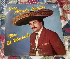 """JOSE ALFREDO CASTILLO """"VIVA EL MARIACHI"""" TEXMEX CHICANO SOUL RARE LP VG+"""