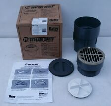 Oatey True Set Adjustable Pvc In Floor Drain Tp432n 4 With5 Round Ni Br Str Rg