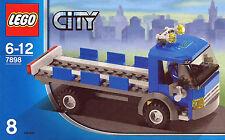 Lego® Eisenbahn LKW Kipplaster + Fahrer aus 7898 mit BA paßt zu 3677 60052 7939