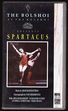 SPARTACUS - THE BOLSHOI  BALLET - PAL VHS (UK) VIDEO