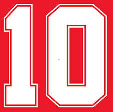Inglaterra Lineker del Camisa de fútbol Número Letra calor impresión fútbol 1990 un