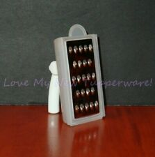 Tupperware Mini Grate 'N Measure® Choc. Shavings Spices Collectible White New