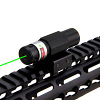 Adjustable Green Dot Laser Sight   Mount Scope Rail Switch for