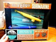 "The Flippy Submarine 1968.""Magic-Jet Pellets""Factory Sealed""Placo Toy"""