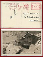 47486 - ITALIA REGNO -  AFFRANCATURA MECCANICA: Albergo Cascata del Toce 1932
