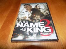 IN THE NAME OF THE KING The Last Mission 3 Dominic Purcell Drama DVD SEALED NEW