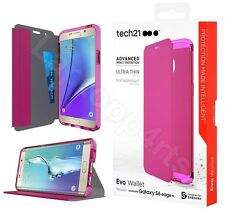 Tech21 Evo Wallet CardSlot Folio Case Cover For Samsung Galaxy S6 Edge Plus Pink