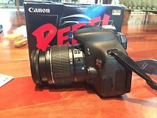 Canon Rebel T3i 18.0 MP SLR Camera With EF-S IS II 18-55mm Lens Kit  (2 Lenses)