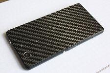 Sustituto de fibra de carbono para cubierta de batería Vidrio/Trasera De Sony Xperia Z3 Compact