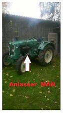 Anlasser Starter MAN Ackerdiesel AS 325 H Traktor Getriebeanlasser Motor D 8814