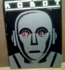 1978 pb  Robot Book Robert Malone sci-fi star wars robotics fantasy art future
