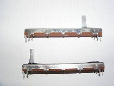 Unico Diapositiva Potenziometro log - 10k - 75mm lunga
