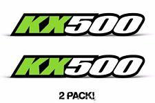 AMR Racing Kawasaki KX 500 Swingarm Graphic Number Plate Decal Sticker Part